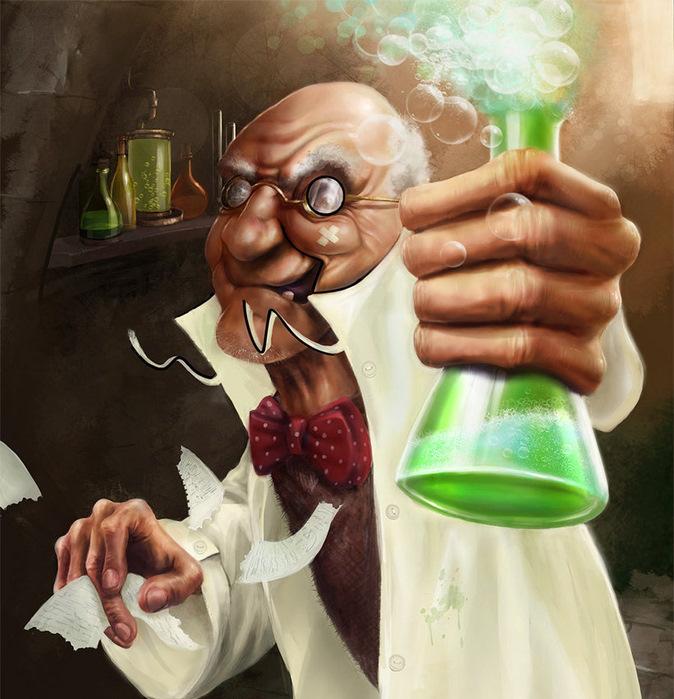 Смешные картинки ученых