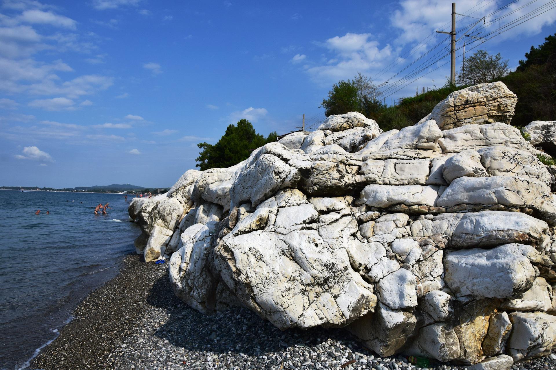 Белые камни абхазия фото тиль планировал