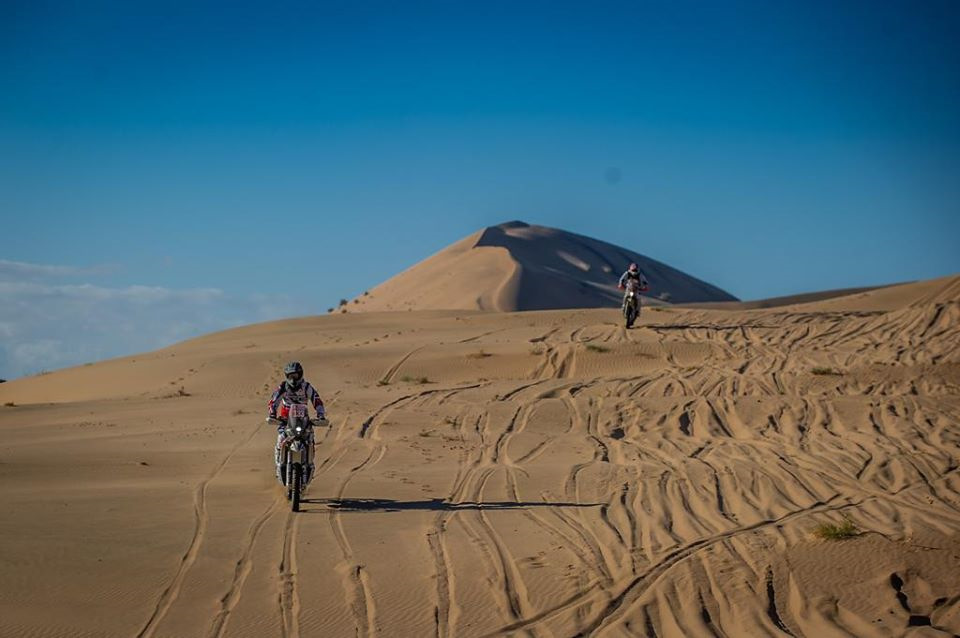 пески дакара