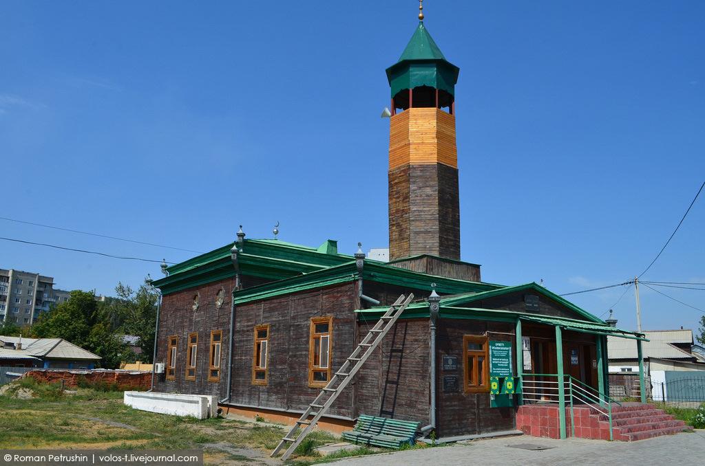 Джамбула 48. Мечеть Тыныбая