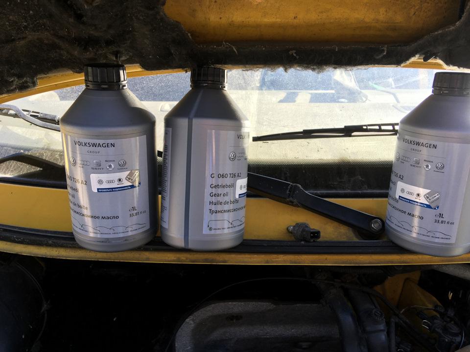 замена масла в фольксваген т4 транспортер