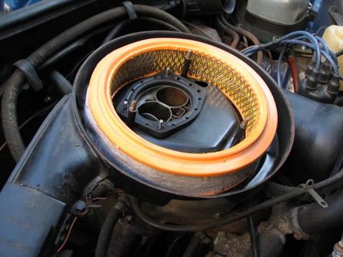 Замена воздушного фильтра на автомобиле ваз 2107