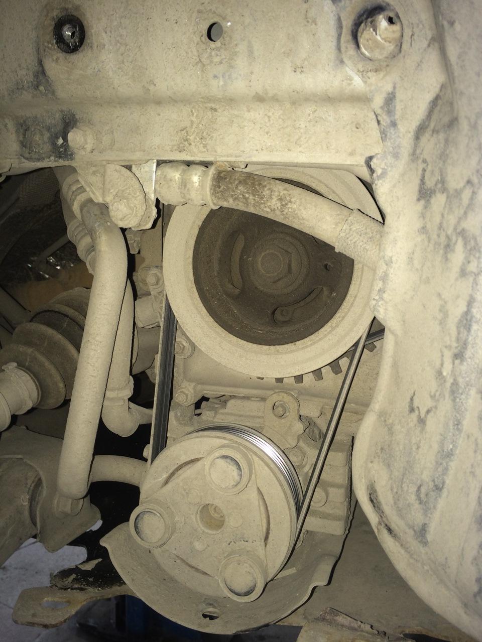 Мазда 3 схема ремня вспомогательных агрегатов