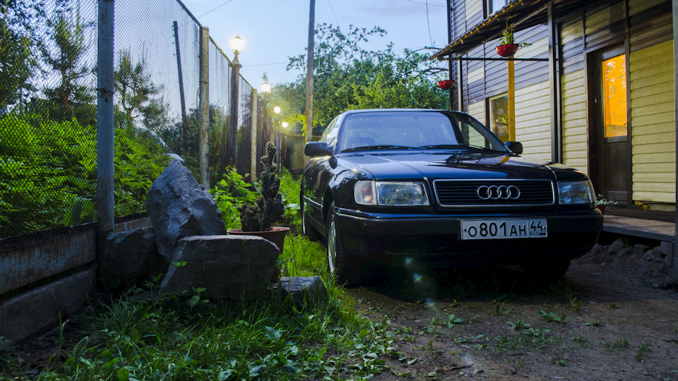 диагностика автомобиля audi 100 - мотор 2.3 л (aar)