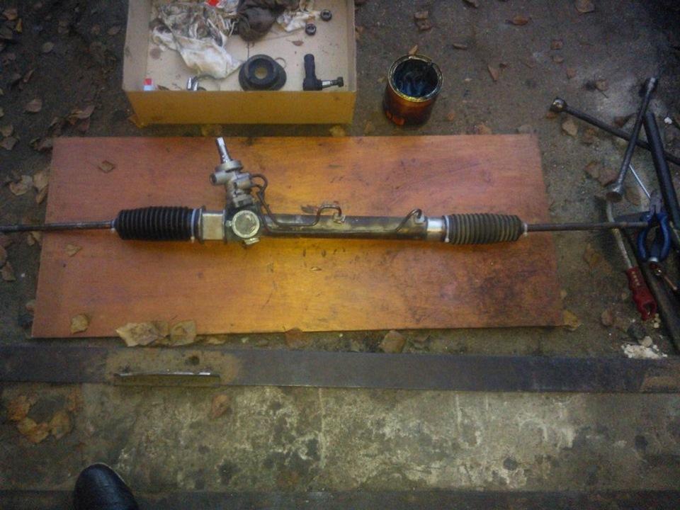 Вектра с ремонт рулевой рейки