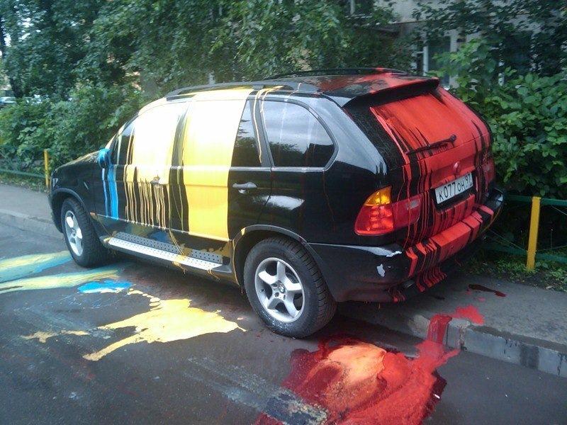 1029854s 960 - Чем оттереть краску с кузова автомобиля