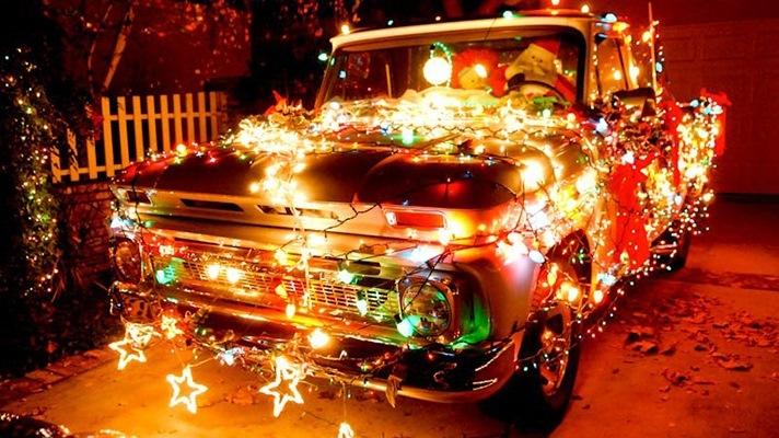 чудо уже авто картинки к новому году под