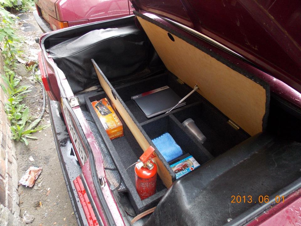 Багажник своими руками на ваз 2107