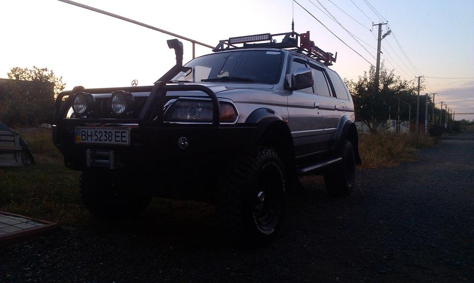Задний силовой бампер для л200 193