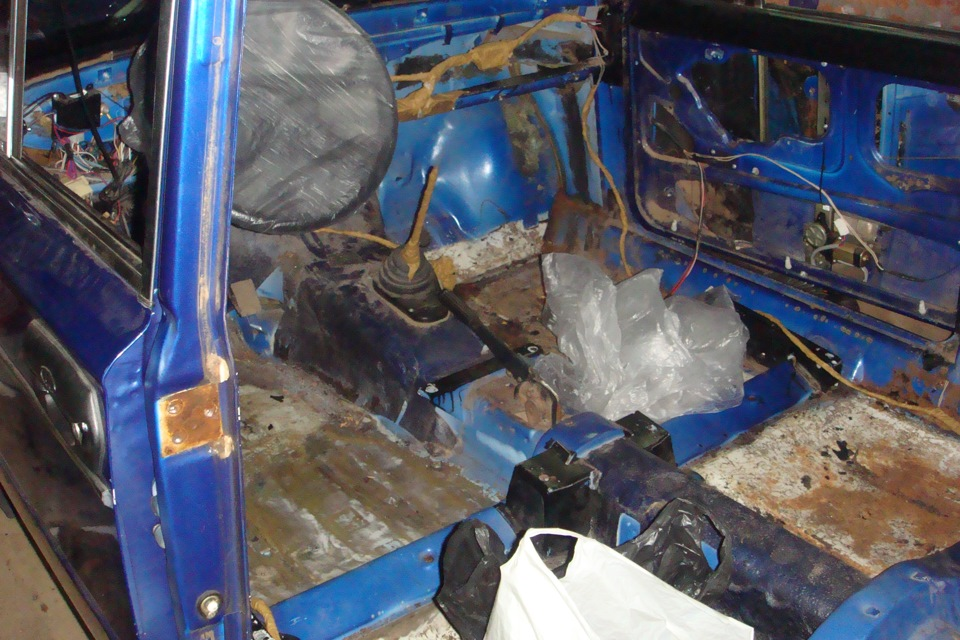 Ремонт кузова ваз 2106 в домашних условиях