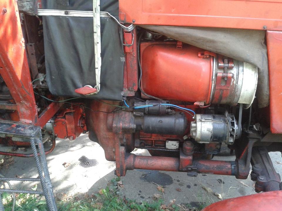 Электрооборудование тракторов МТЗ-80, МТЗ-82