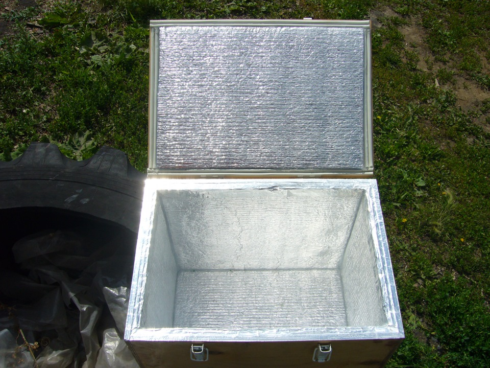 холодильник своими руками из пенопласта фото можна виділити одну