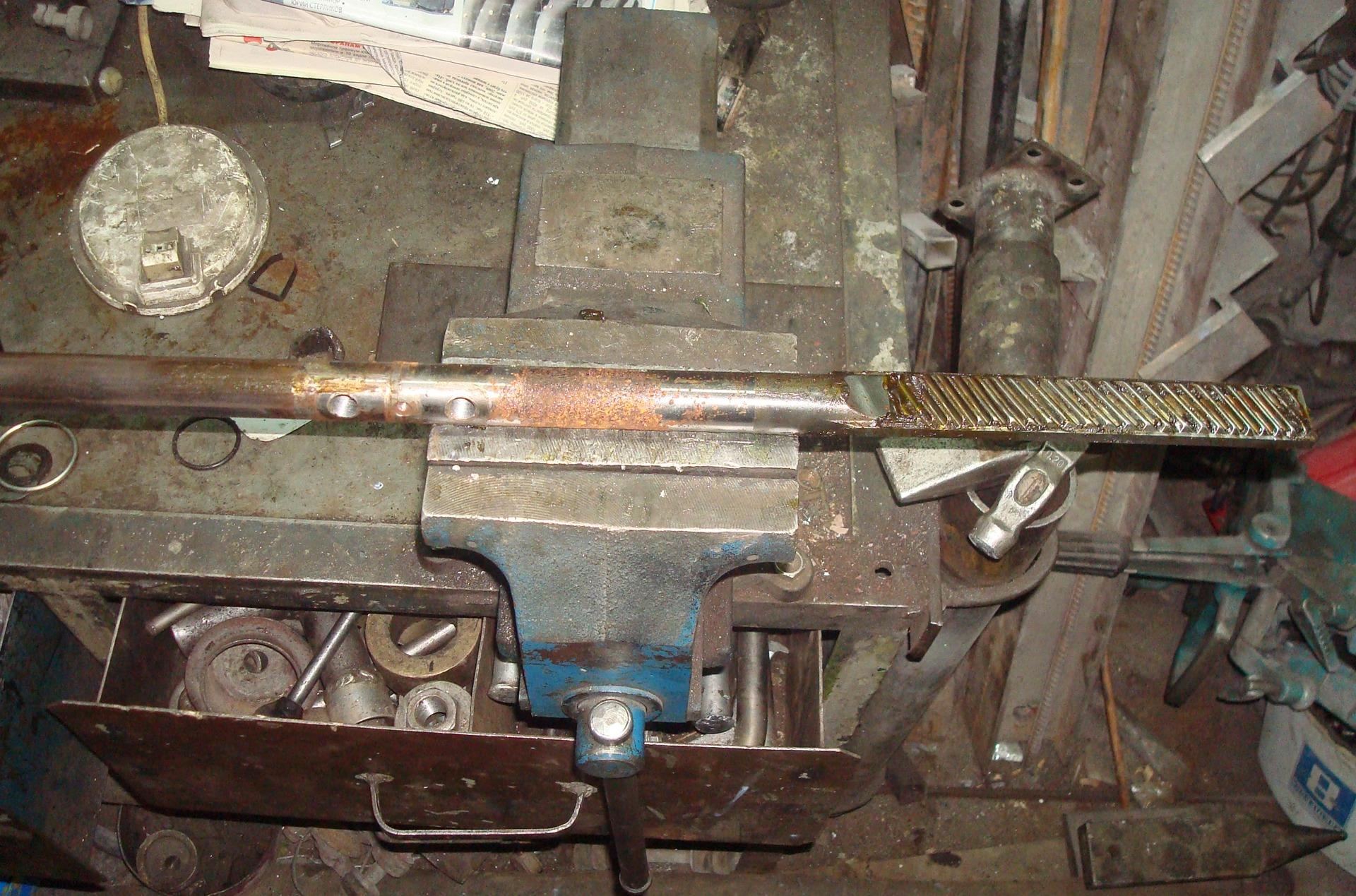 Ремонт калины своими руками рулевая рейка