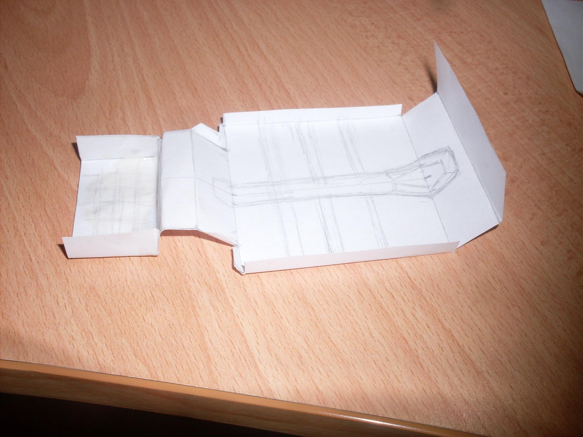 Ваз 2106 из бумаги своими руками 49