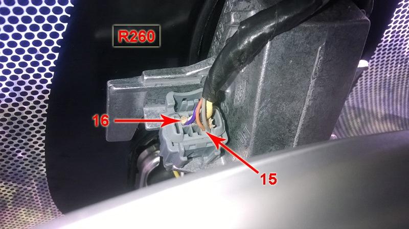 Подключаем провода по схеме: