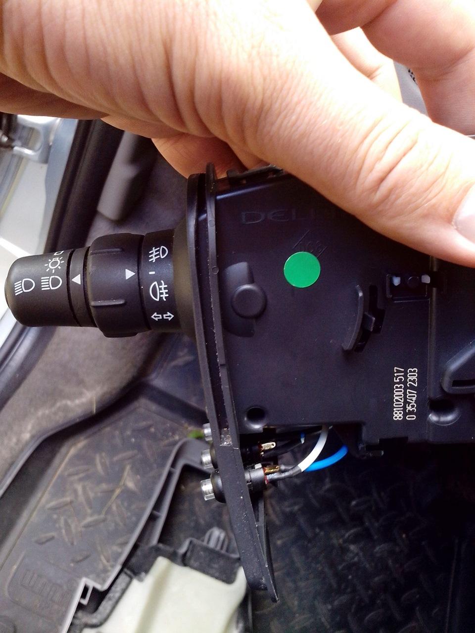 многофункциональный под рулевой переключатель renault kangoo