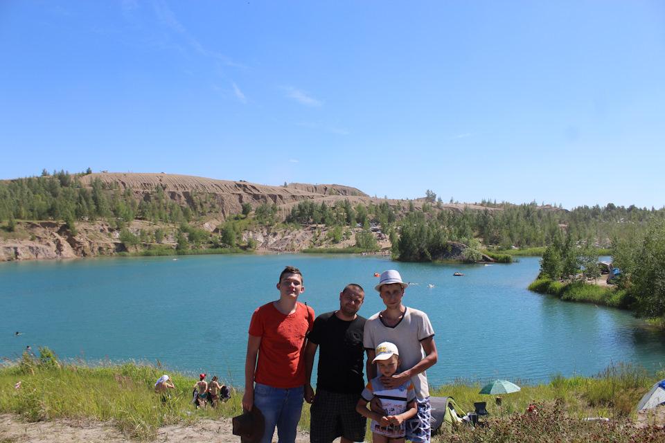 Небольшое семейное путешествие к «Голубым озерам»