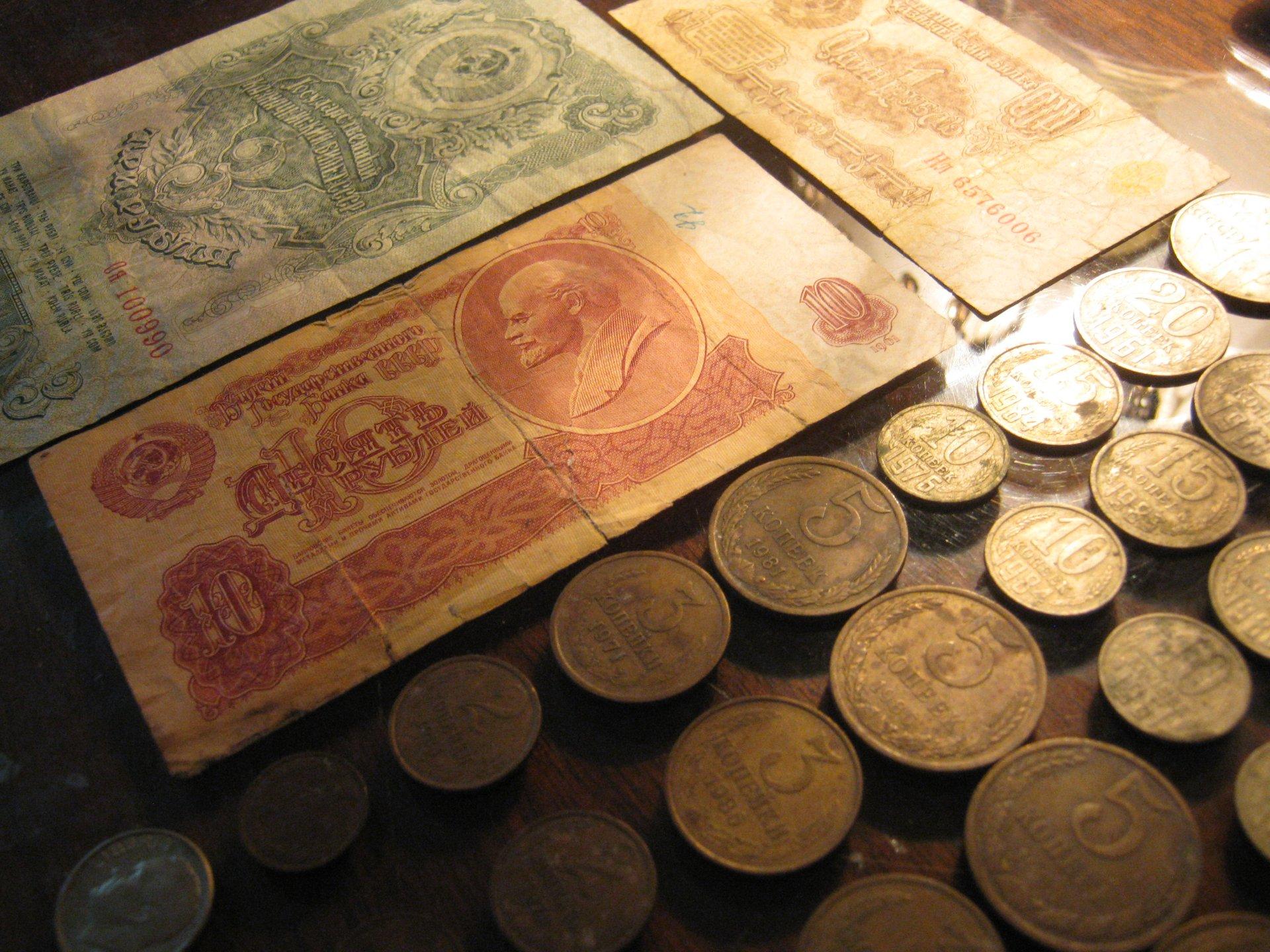 все советские валюты фото гусиной лапки