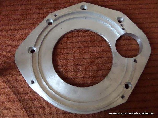 переходная плита двигатель ваз фольксваген