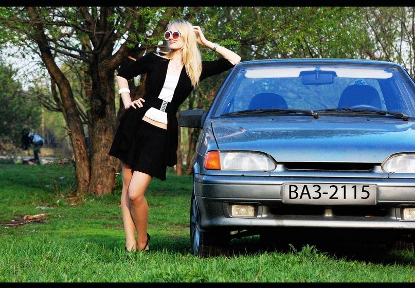 Ваз 2115 и девушки фото