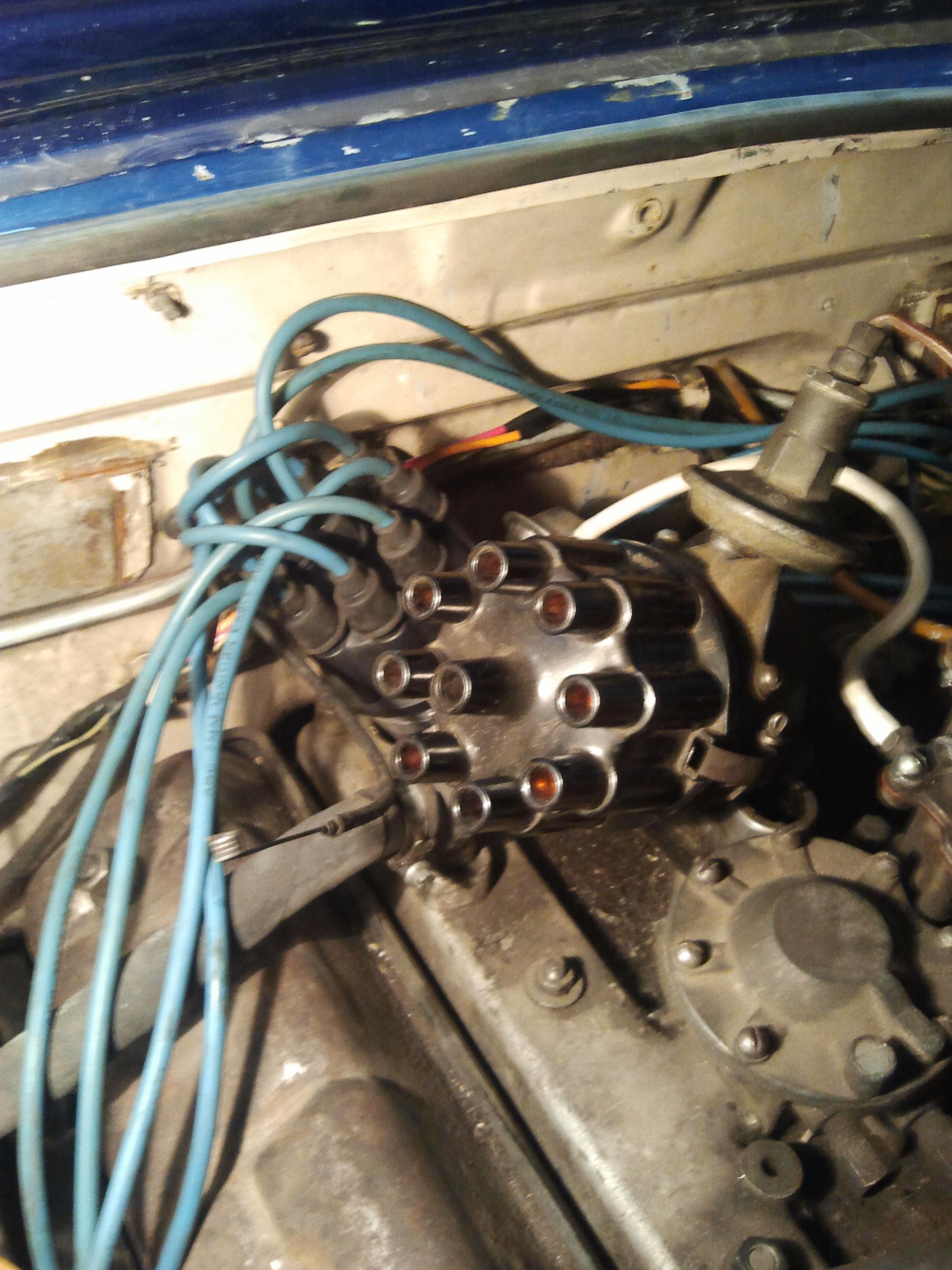 катушка зажигания от газ 53 и его схема проводов