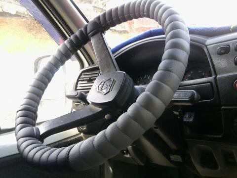 Оплетка на руль газели своими руками 44