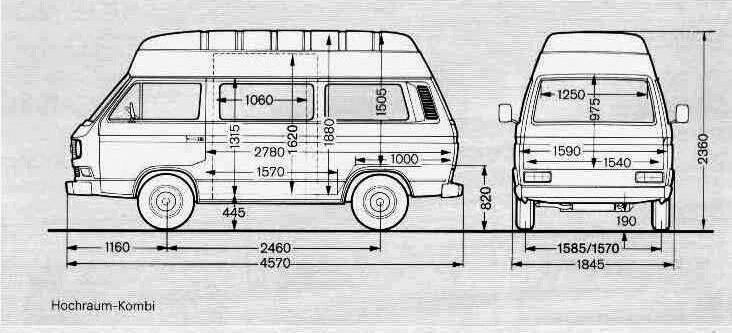 Размер фольксваген транспортер т3 фольксваген т5 транспортер купить в москве