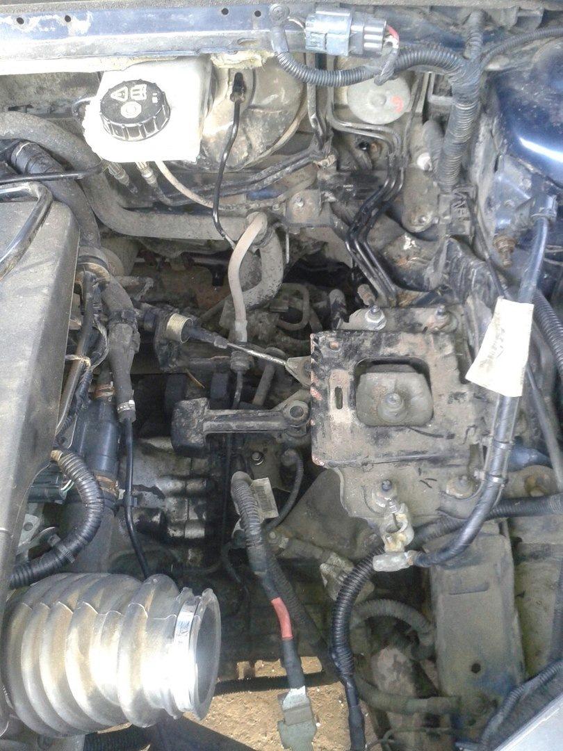 Замена цилиндра сцепления форд мондео