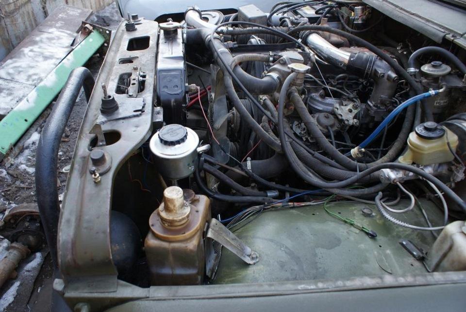 Установка дизеля на уаз 469