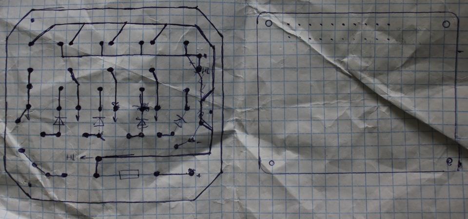 ТСУ + схема модуля