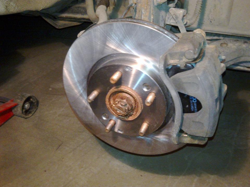 Замена штока ручного тормоза киа спортейдж 3 Замена тормозных дисков фиеста