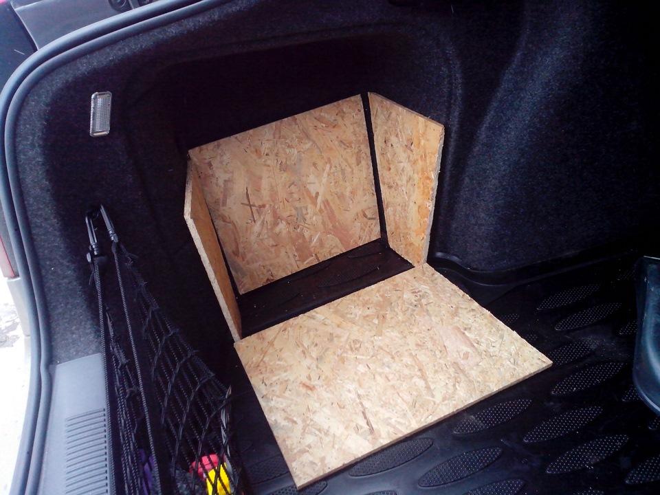 Ящик для багажника своими руками