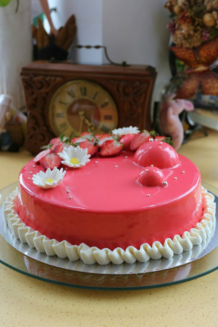 Рецепт муссового торта роше