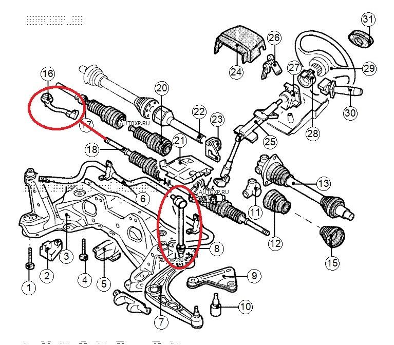 Ремонт ходовой рено лагуна 1