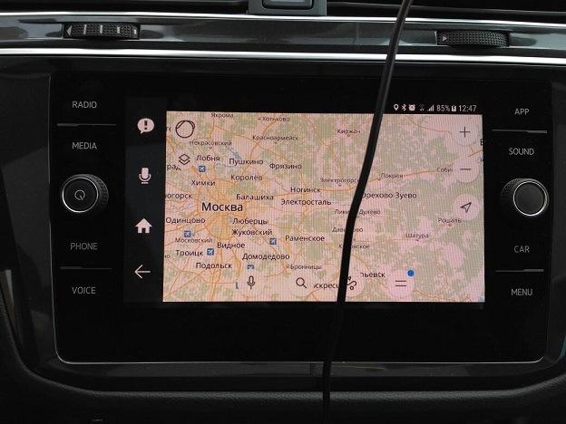 Дружим Samsung с MirrorLink — Volkswagen Tiguan, 2 0 л , 2017 года