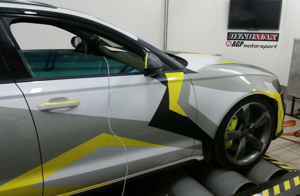 Настройка st2 Audi A6 Allroad 3.0TFSI