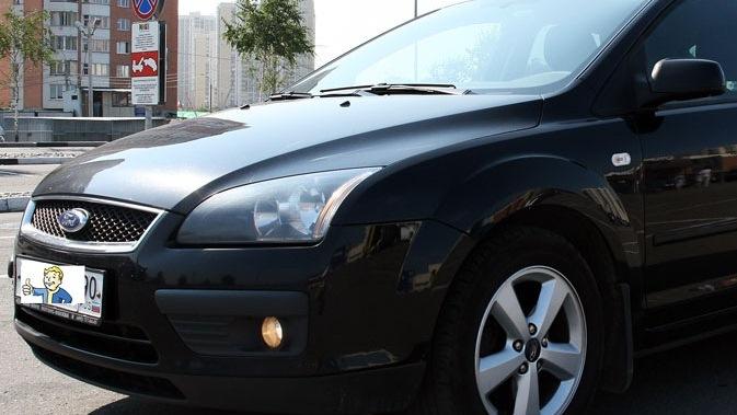 фото черный форд фокус 2 хэтчбек