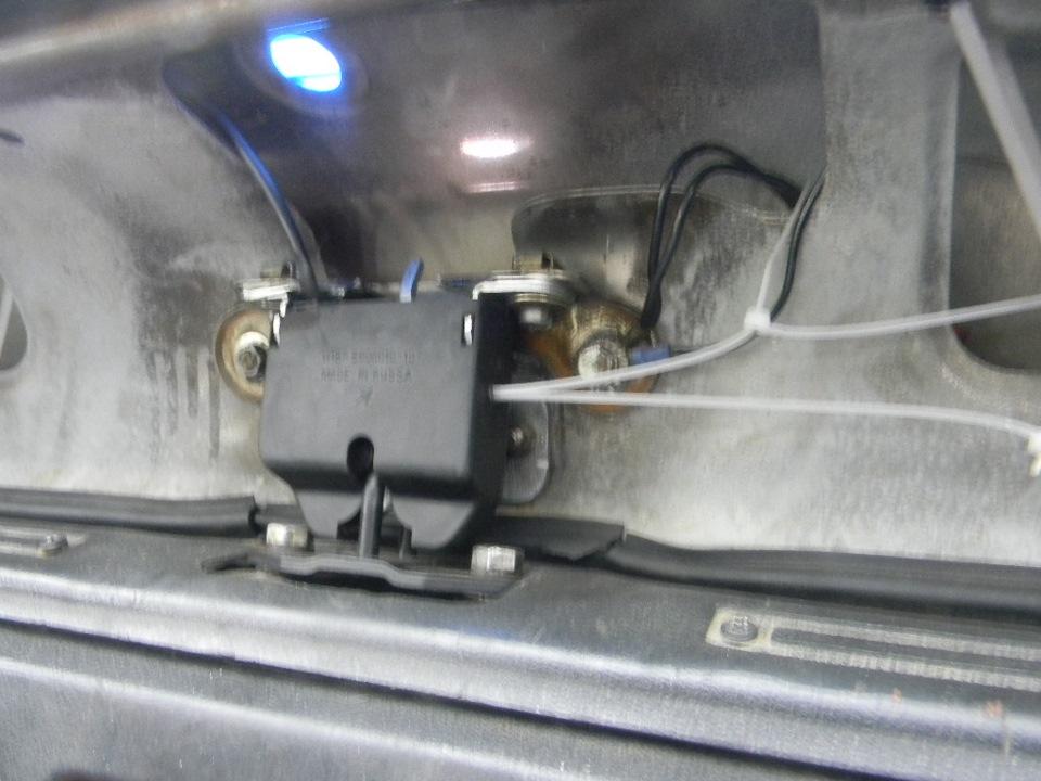 Ремонт замка багажника ваз 2109 своими руками