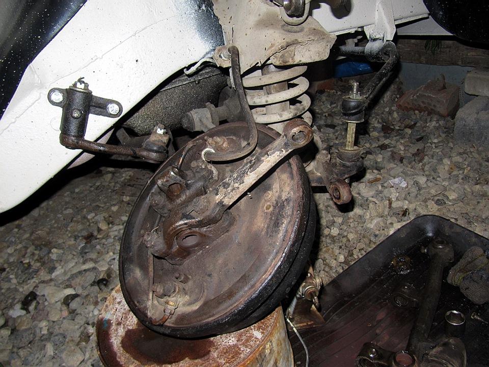 Газ 2410 ремонт своими руками передняя подвеска