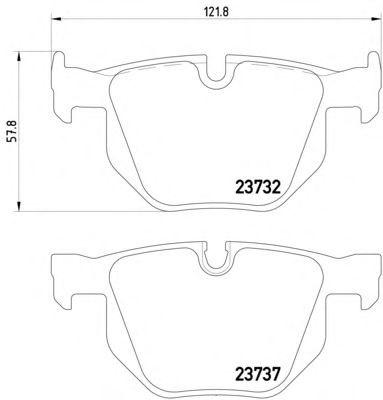замена датчика износа тормозных колодок на BMW e60