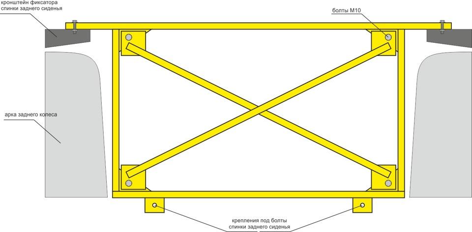 схема усилителя кузова