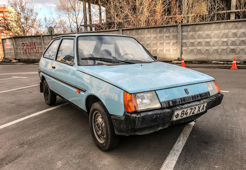 Первая переднеприводная модель Запорожского автозавода