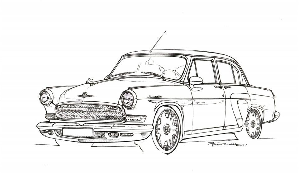 к примеру, ГАЗ-13 «Чайка»