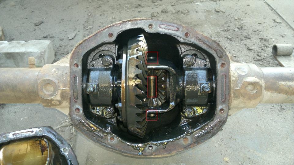 Ремонт редуктора заднего моста газ 3110 своими руками