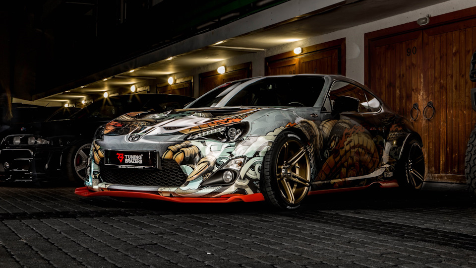 toyota gt86 yakuza by tuning brazers drive2. Black Bedroom Furniture Sets. Home Design Ideas