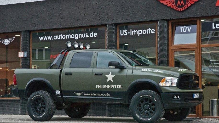 Dodge Ram Feldmeister проходимец