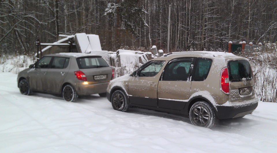 Roomster Vs Fabia Skoda Roomster Scout