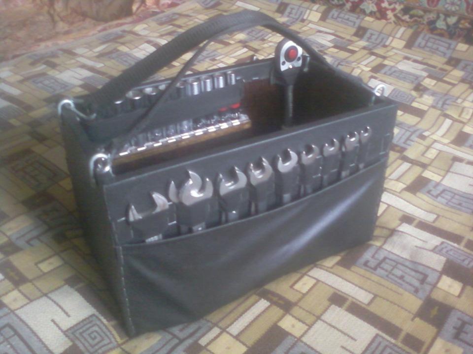 Ящик для инструментов в автомобиль своими руками фото