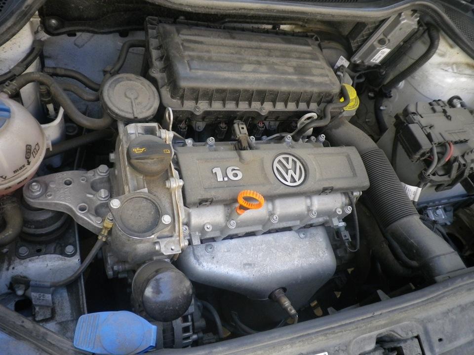 как правильно мыть двигатель фольксваген поло седан