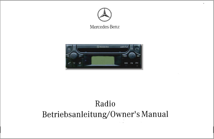 mercedes benz radio owner s manual audio 10 cd alpine mf2910 rh drive2 com Mercedes Manuals Marietta GA Manual Mercedes 2017